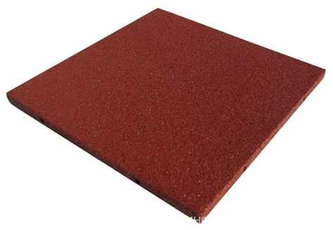 плитка из резиновой крошки 500х500х20