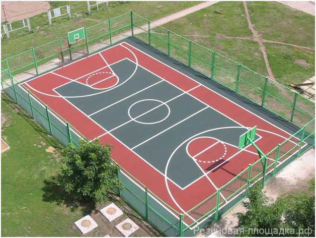Многофункциональные спортивные площадки